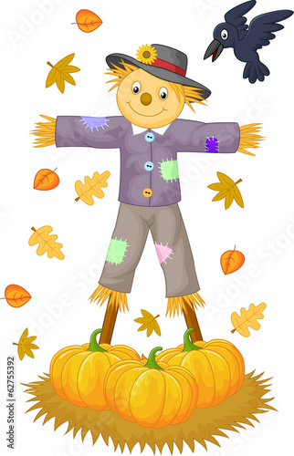 Scarecrow cartoon