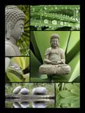 Mosaique Bouddha poster