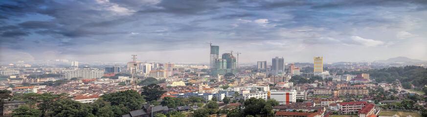 Malacca Cityscape Panorama