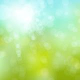 soft spring bokeh background