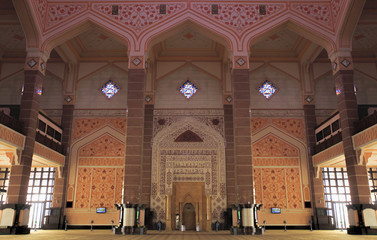 Putra Mosque Moorish Interior Architecture