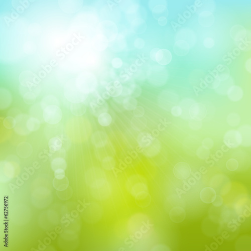 soft spring bokeh background