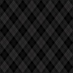アーガイル柄 ブラック 壁紙