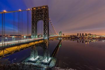 George Washington Bridge for Super Bowl XLVIII