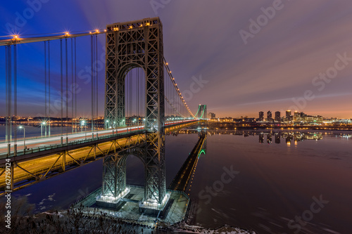 George Washington Bridge for Super Bowl XLVIII