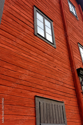 Falu Red Wooden Surface