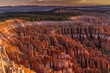 Leinwanddruck Bild - Silent City - Bryce Canyon