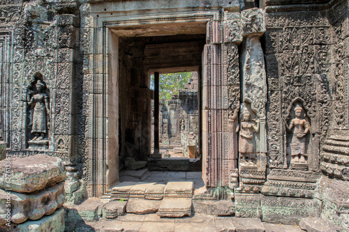 Banteay Kdei - a famous temple in the Angkor Archeological Park