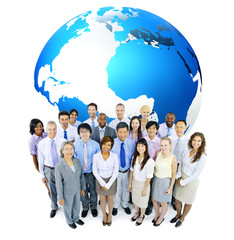 Global Business With Diverse People