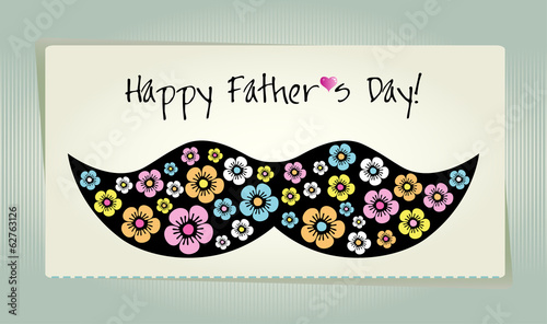 Happy Father's day  background or card