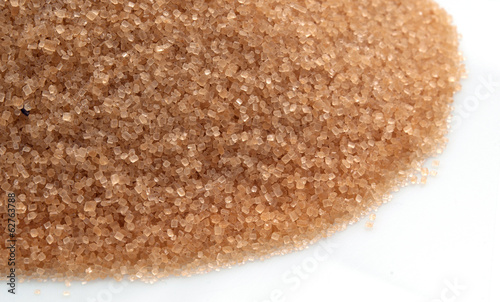Brown sugar isolated