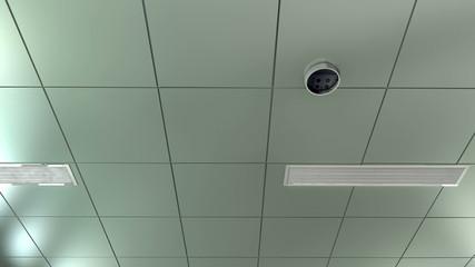 Hospital ceiling POV