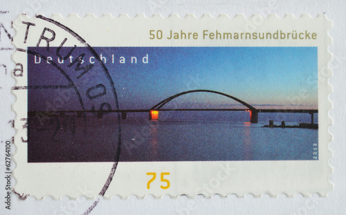 Germany postaga stamp, printed 2013