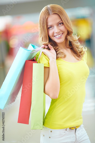 Beautiful shopper
