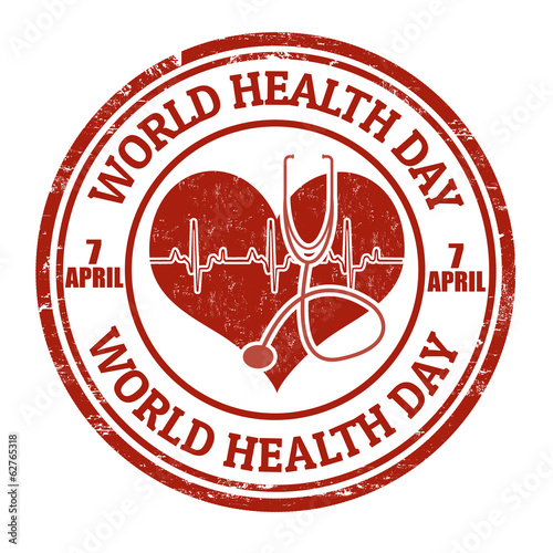 World health day stamp