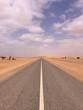 strada nel deserto