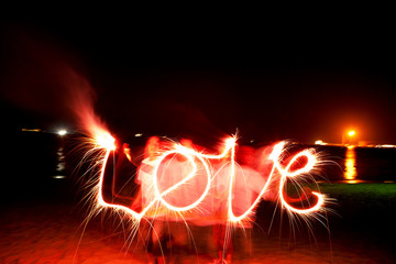 Love of sparklers
