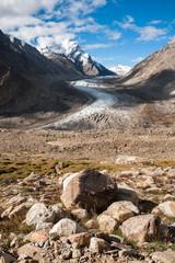 The Drang-Drung Glacier or Durung Drung Glacier, India