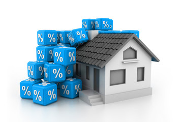 Sale house concept