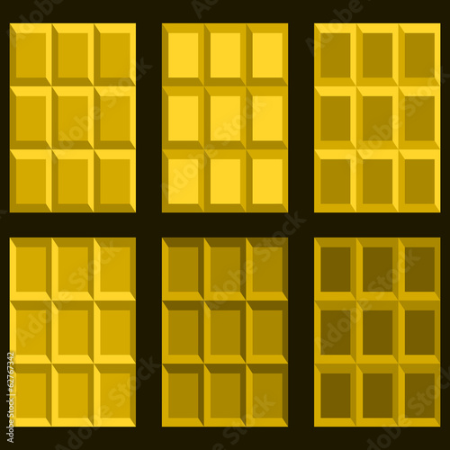 Geometric golden blocks