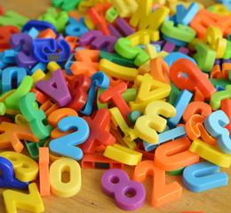 Zahlensalat Zeichen Buchstaben