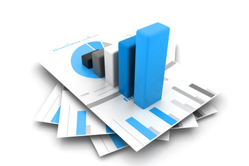 Business report and graph