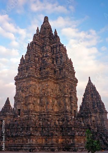 Hindi temple ruins, Prambanan, Indonesia