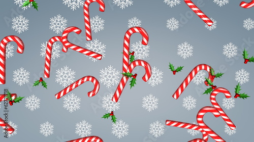 Xmas background animation.