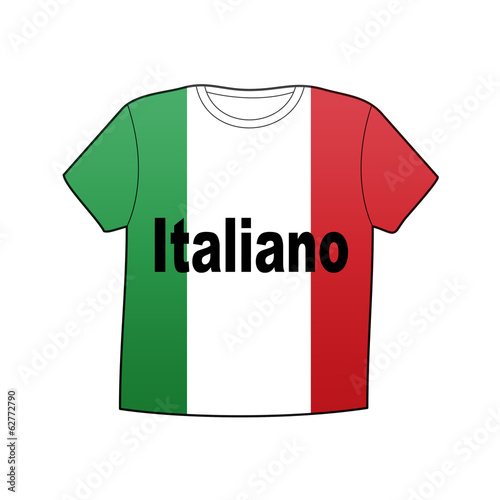 Camiseta version en italiano