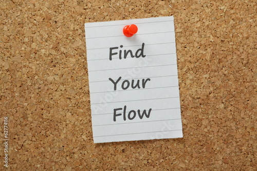 Find Your Flow for Optimum Efficiency