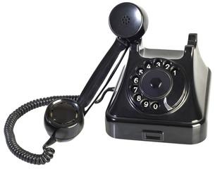 Bakelite Phone Cutout