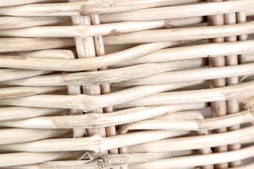 Pattern of wicker basket.