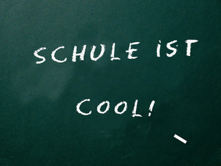 Schule ist cool