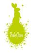 osterhase,osterei,blumenwiese,silhouette,grün,vorlage,frühling