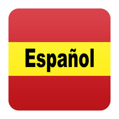 Etiqueta tipo app version idioma español