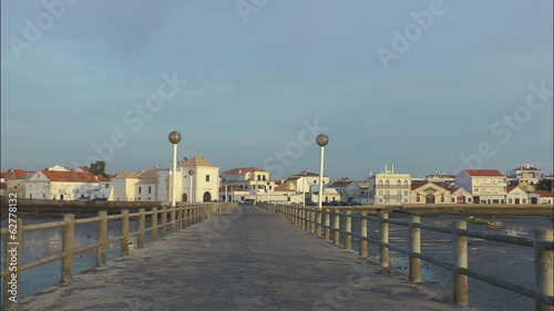 Old pier in Portugal