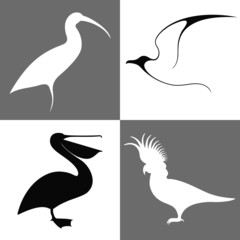 Bird. Icon Set