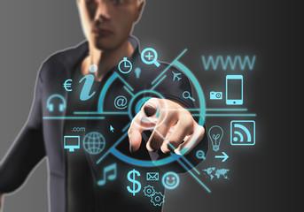 Rappresentazione icone web