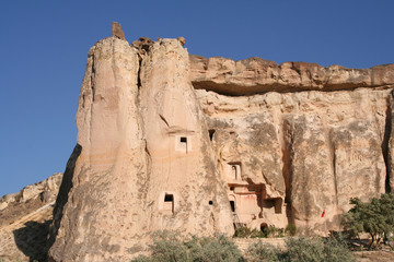 Ancient Rock Church in Cappadocia