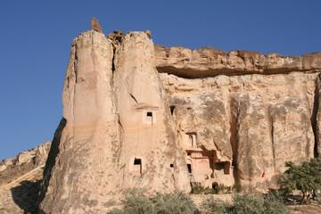Ancient Rock Church in Cappadocia