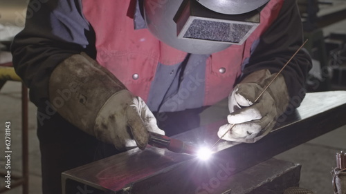 HD Welder in action