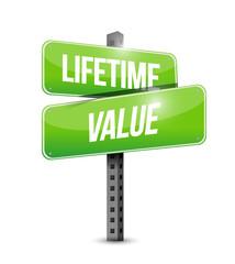 lifetime value illustration design