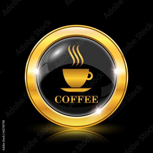 Fototapeta Coffee cup icon