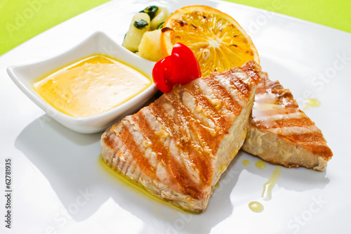 Tuna Steak Plate