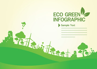 Green Concept Infographic