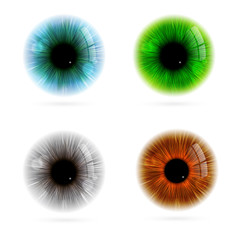 Human eye color