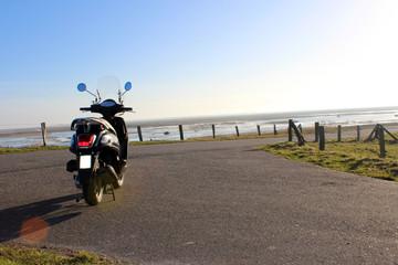 Ausflug mit Motorroller