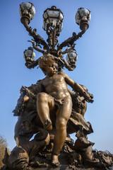 pont Alexandre III Paris - Bronze