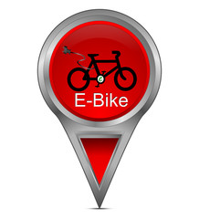 Pin Pointer mit E-Bike