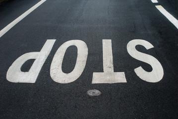 Segnale di Stop, simbolo